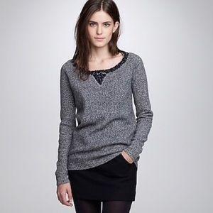 J. Crew Lambs Wool Sequin Sweater
